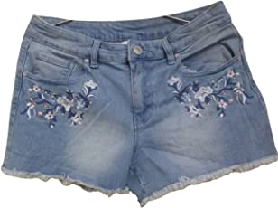 Timbre Trendy Women's Denim Blue Hot Shorts for Women's and Girls