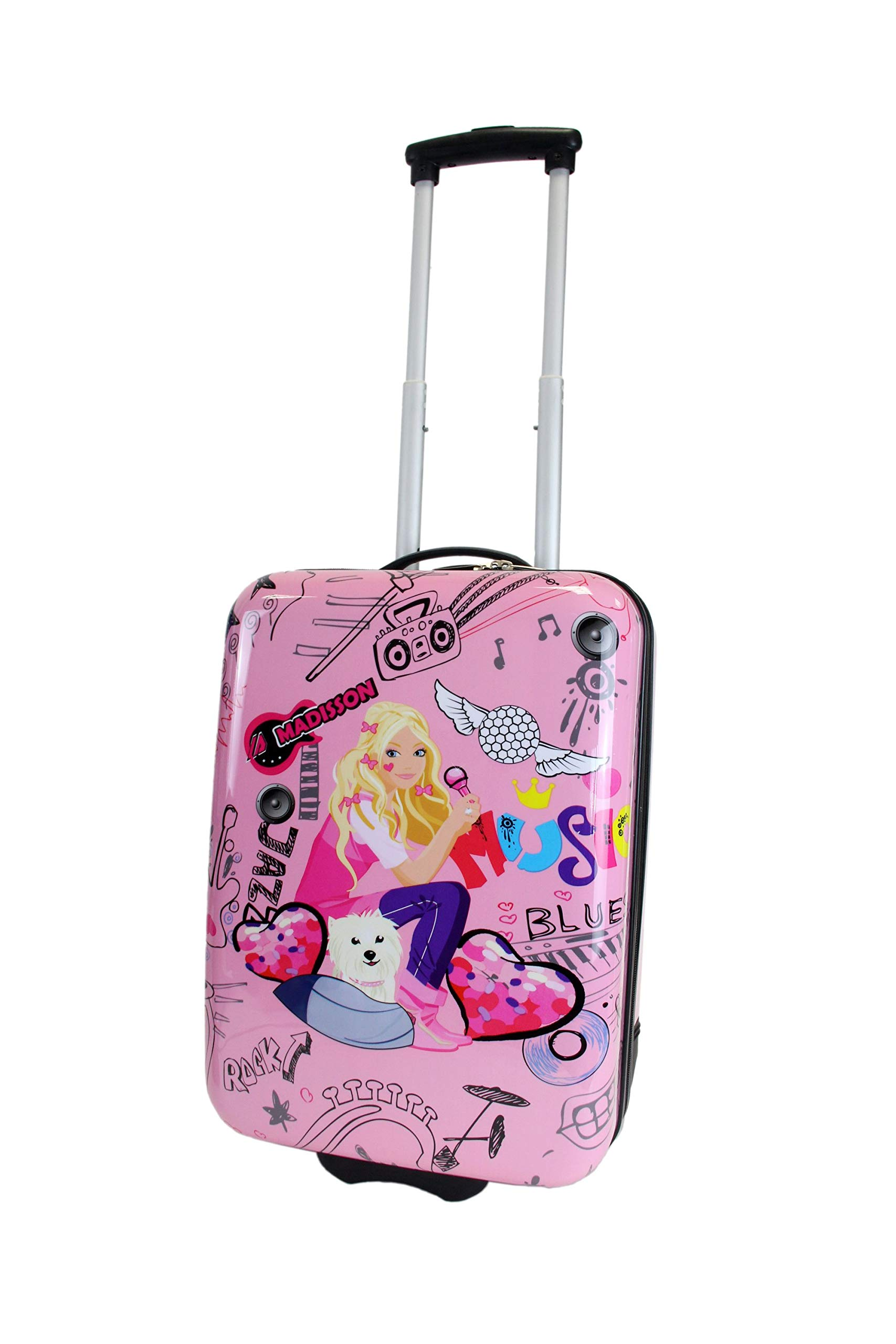 Frentree-Cool-Girls-Mdchen-Kinder-Trolley-Hartschalen-Handgepck-Reisekoffer