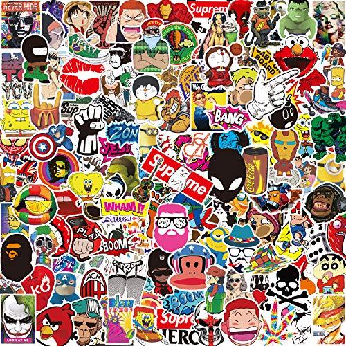 PCS], Q-Window Graffiti Decal Vinyl Stickers für Koffer Laptop Skateboard Kinder Auto Motorrad Fahrrad Snowboard IPhone Xbox One Nintendo Bomb Comic Aufkleber Sticker Wasserdicht ()