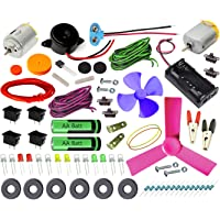 Kit4Curious Super Kit 70 Items in a kit – Science & Fun Innovation Kit with Instruction Guide for 70 Projects
