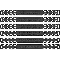 Maske Ohrhaken, 6 Stück Maskenhaken Anti-rutsch Silikon Masken Ohrband Gummiband Verlängerungsriemen für Ohrschutz 4…