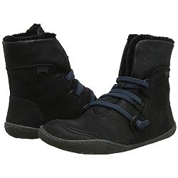 Camper Peu Zapatillas Altas para Mujer Schwarz Black 1 37 EU
