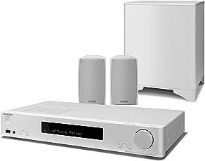 Onkyo LS5200WH Heimkino-Receiver-System weiß