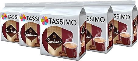 TASSIMO Suchard Le Chocolat 80 boissons (Pack de 5 x 16 Tdisc)
