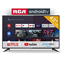 RCA RS43F2 Smart TV (43 Pouces Full-HD Android TV avec Google Assistant, Google Play Store, Prime Video, Netflix) HDMI…