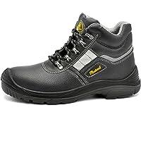 SAFEYEAR Chaussure de Securité Homme Chantier - M8350 S1P Bouchon en Matériau Composite Travail Bottes de Protection…