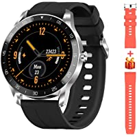 Blackview X1 Smartwatch Herren, Smart Armbanduhr Herren Fitness Tracker Smart Watch Rund 5ATM Wasserdicht Fitnessuhr…