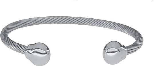 Sabona Magnetarmband of London Magnetschmuck, Magnet-Powerarmband Twist mit Silberkugeln, Premium Qualität & Design Seit 1960
