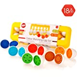 Tippi Colour Matching Egg Set – Educational Baby & Toddler Toys - For Children Aged 1,2,3 Years Old