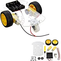 GBSOFT 2WD Smart Robot Car Chassis, Two Wheel Drive Robot Car Chassis