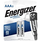 Energizer Ultimate Lithium AAA Batteries, 2 Pieces - 1.5 Volt