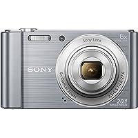 Sony DSC-W810/SC Cybershot 20.1MP Point & Shoot Digital Camera with (Silver)