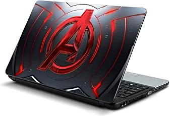 Gadgets WRAP Avengers red Laptop Decal for 15.6 inch Laptop 15x10