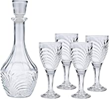 Harmony WB004-S5 Decanter With Cup 145Ml With Color Box set up 5 (Clear)
