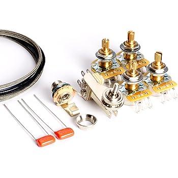 toneshaper guitar wiring kit, for es 335 (modern wiring) amazon cotoneshaper guitar wiring kit, for es 335 (modern wiring)