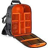 Neewer® flexibel skiljevägg kamera vadderad ryggsäck väska stöt- insättning skydd för SLR DSLR spegellösa kameror och objekti