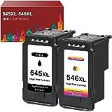 Toner Kingdom PG-545XL CL-546XL gereviseerde vervanging voor Canon 545 546 XL inktcartridges voor Canon Pixma TR4550 TS3150 M