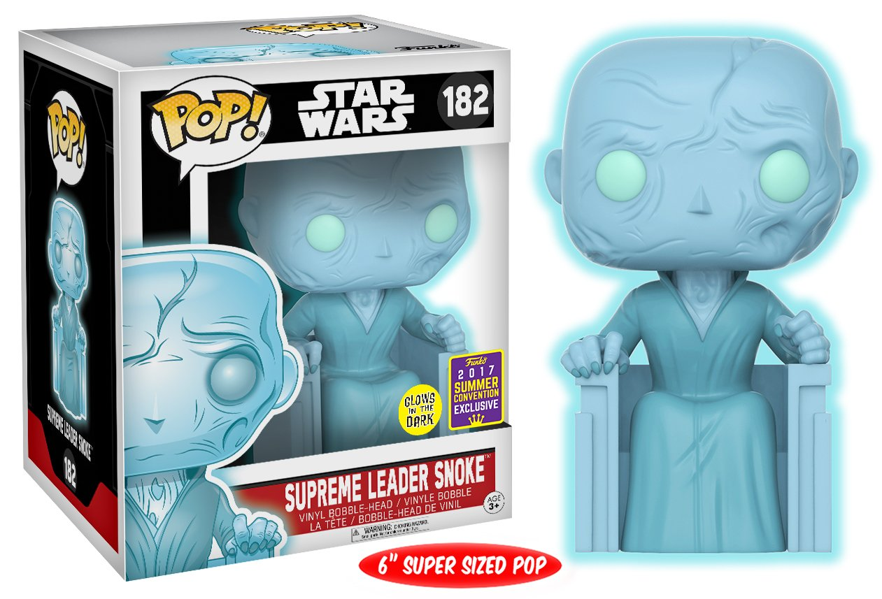 Funko Pop Snoke holográfico – Brilla en oscuridad) (Star Wars 182) Funko Pop Star Wars