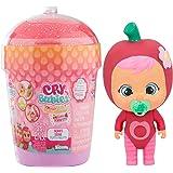 Cry Babies Magic Tears Casetta Smoothy Tutti Frutti, Mini Bambola a Sorpresa da Collezione Profumata Frutta con Lacrime Vere