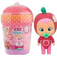 Cry Babies Magic Tears Casetta Smoothy Tutti Frutti - Mini Bambola a Sorpresa da Collezione Profumata con Lacrime vere e…