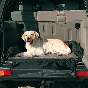 Trixie 1321 Autobett, 95 × 75 cm, schwarz/grau