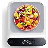 Balance de Cuisine Numérique, Electronique Balance de Haute Précision Poids Jusqu'à 5 kg (Précision 1g) - Balance de Alimenta