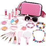 ARANEE Kit De Maquillaje para Niño, 20 Piezas Piezas de Juguete de Maquillaje Cosméticos Lavable Maquillaje de Juguete para n