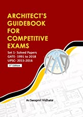 Architect's Guidebook For Competitive Exams (for GATE- Architecture & Planning 2019 and other recruitment exams)