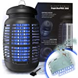 Bug Zapper & Attractant - Effective Electric 220-240V Mosquito Zappers/Killer - Insect Fly Trap, Waterproof Outdoor/Indoor -