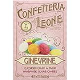 5 Astucci Ginevrine Confetteria Leone 80g Piccoli dischetti di zucchero dai variopinti colori arcobaleno - Caramelle…