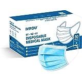 Chirurgische Mondmaskers Ivrou IIR Medische Mondkapjes ST-KZ-01 x 50 stuks   iir Medical Mask x 50 pieces