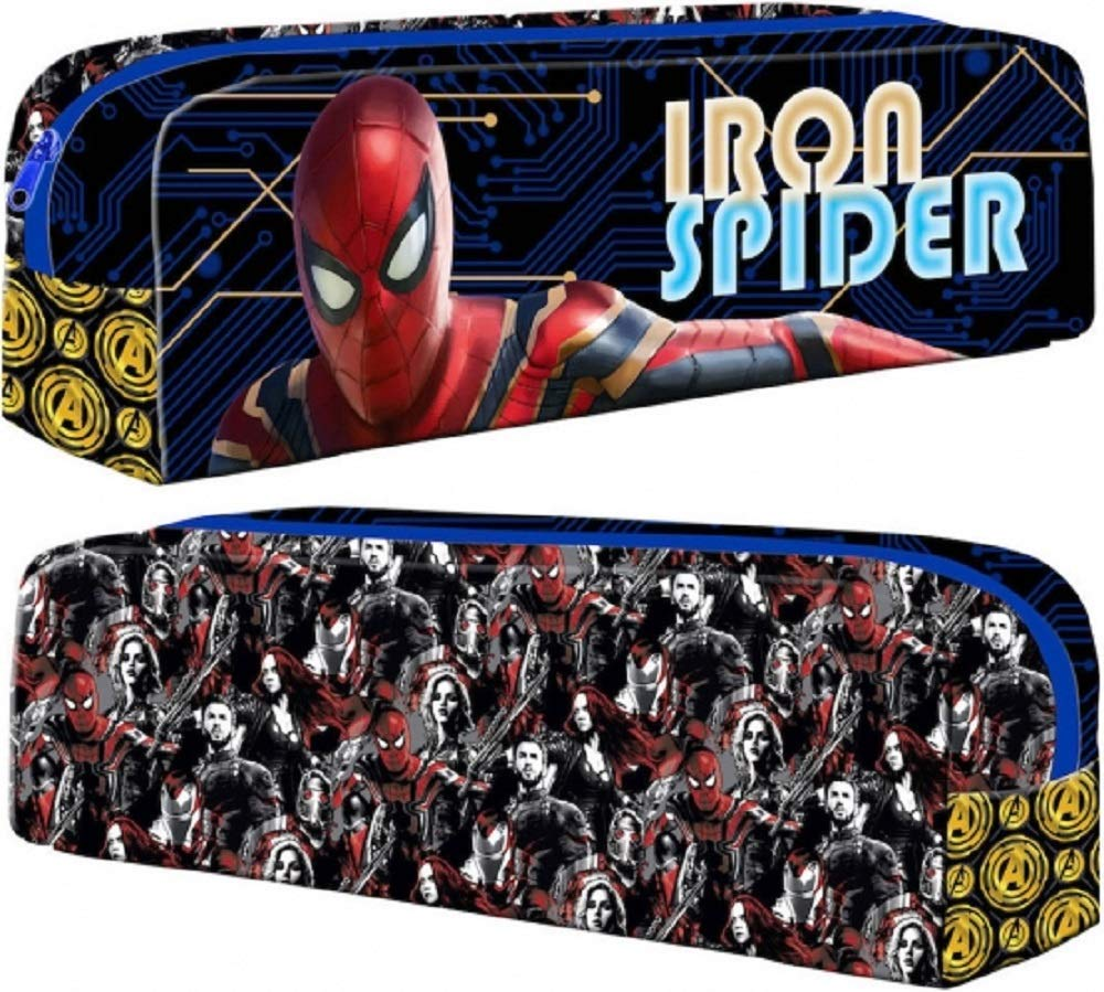 Estuche rectangular de Iron Spider-Man oficial de Marvel