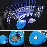 Kit de Blanchiment, KISSION Nouveau Matériel Dentaire Blanchiment des Dents LED Système de Blanchiment Dentaire Kit 10 gels