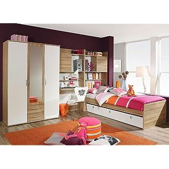Jugendzimmer komplett mädchen  lifestyle4living Jugendzimmer Set, komplett, Mädchen, Jungen ...