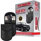 New Horrizon 2 Pack Faraday Bag, 2 Pack Faraday Pouch, Car key Signal Blocker Pouch, Key Holder, RFID Key Blocker Bag…