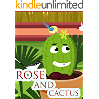 Rose and cactus   English story books for kids: Bedtime stories for kids