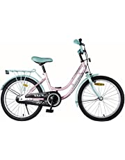 """Vaux Pearl Lady 20"""" Green/Pink Kids Bicycle For Girls"""