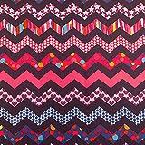 Erstklassiger Polyester Oxford 250D 1lfm - Wasserabweisend, Winddicht, Outdoor Stoff, Gartenmöbel Stoff - Muster 11