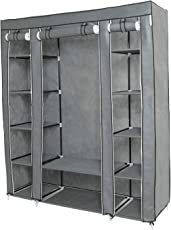 Altered Lifestyle Portable Wardrobe , Extra Strong And Durable Foldable Closet