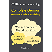 Easy Learning German Complete Grammar, Verbs and Vocabulary (3 books in 1): Trusted support for learning (Collins Easy…