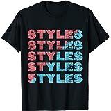 Vintage Retro Styles black/white Camiseta