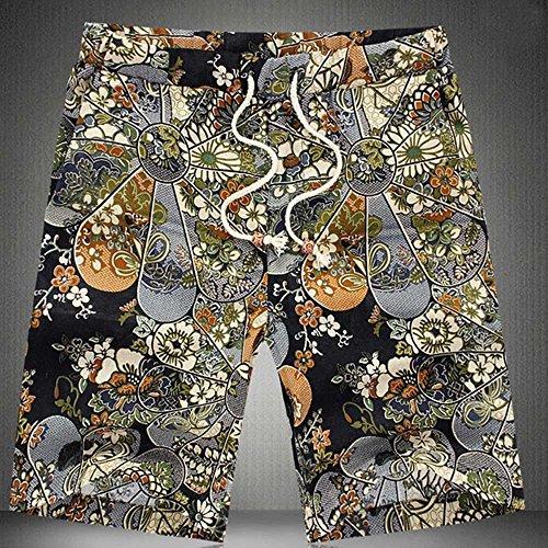 a basso prezzo 7fc47 5de59 Uomo Pantaloncini e Calzoncini da Bagno Styledresser Hawaiana Pantaloncini  da Spiaggia Mare Piscina Maschio Pantaloncini Estivi Casual Costumi ...
