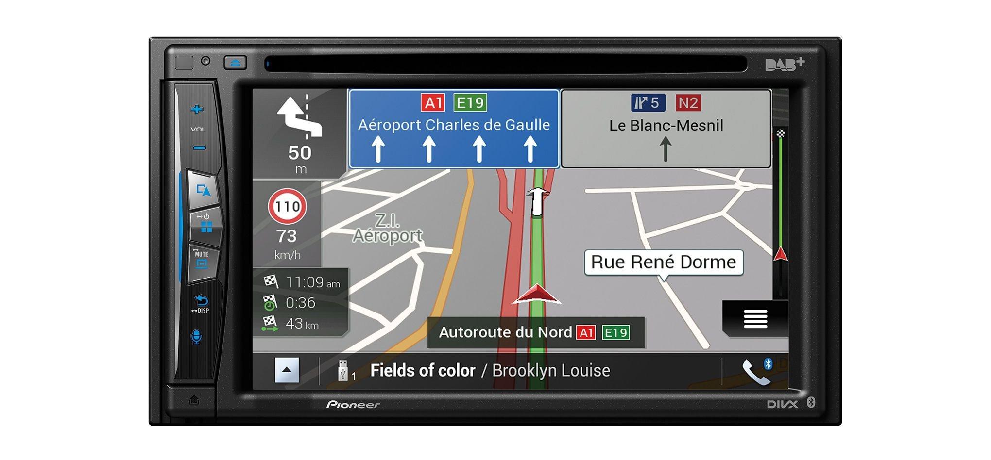 Pioneer-AVIC970DABC3-Navigationssystem