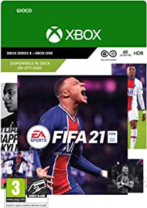 FIFA 21 Standard | Xbox One - Codice download (includes upgrade digitali per Xbox Series X)