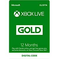Xbox Live 12 Month Gold Membership | Xbox…