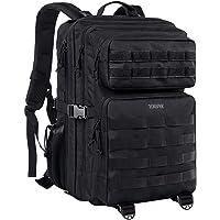 YOREPEK Military Tactical Backpack 45L, Large Molle Army Backpack Survival Assault Rucksack School Waterproof Backpack…
