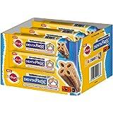 Pedigree DentaFlex Hundeleckerli für mittelgroße Hunde, Kausnack gegen Zahnbelag, Tiefenreinigung bis zum Zahnfleischrand, Huhn, 1er Pack (1 x 9 Stück)