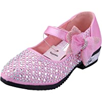 Snyemio Bambina Ballerine Ragazza Principessa Costume Eleganti Glitter Cerimonia Sandali