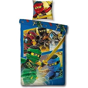 Lego Parure De Lit Simple Ninjago Guerrier Housse De Couette Pour