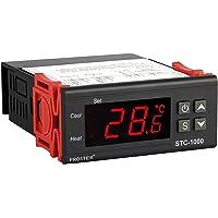 Proster Thermostat Numérique Régulateur Contrôleur de Température avec Capteur STC-1000 220V Afficheur LCD Universel à l…